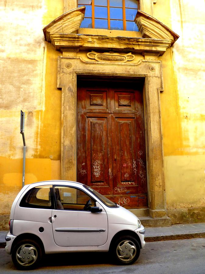 Little Car Of Florence Photograph