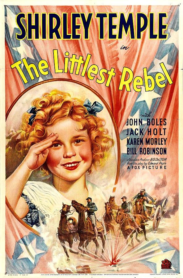 Littlest Rebel, Shirley Temple, 1935 Photograph