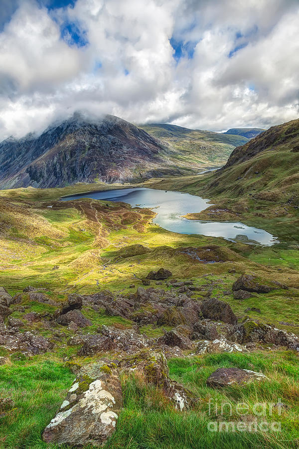 Llyn Idwal Lake Photograph