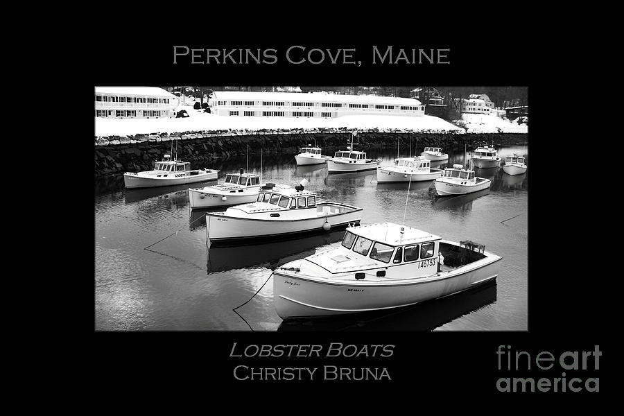 Maine Photograph - Lobster Boats by Christy Bruna