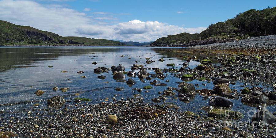 Water Photograph - Loch Spelve by Steve Watson