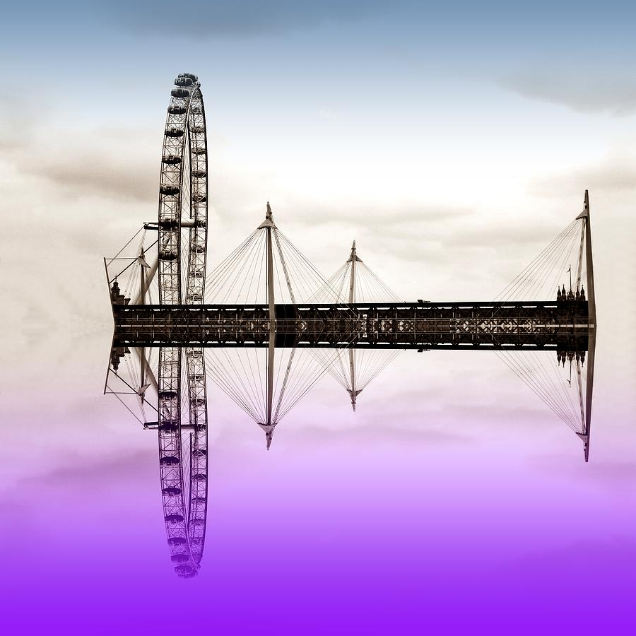 London Eye Photograph  - London Eye Fine Art Print