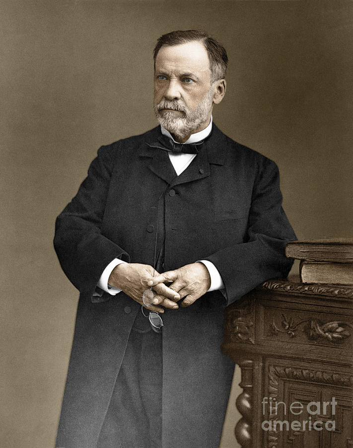 Louis Pasteur, French Chemist Photograph