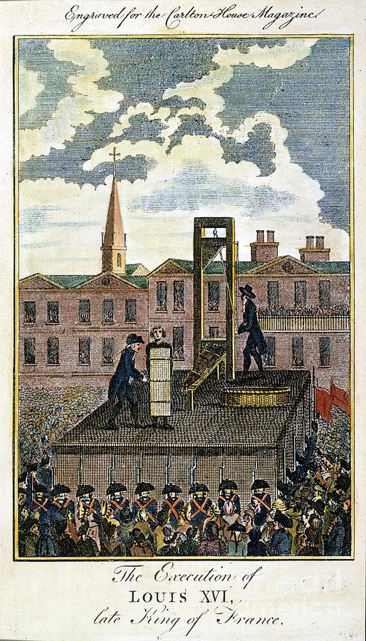 Louis Xvi: Execution Photograph  - Louis Xvi: Execution Fine Art Print