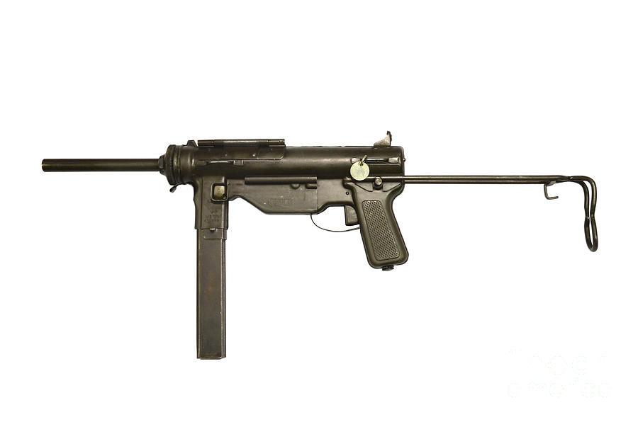 M3a1 Submachine Gun, 45 Caliber Photograph