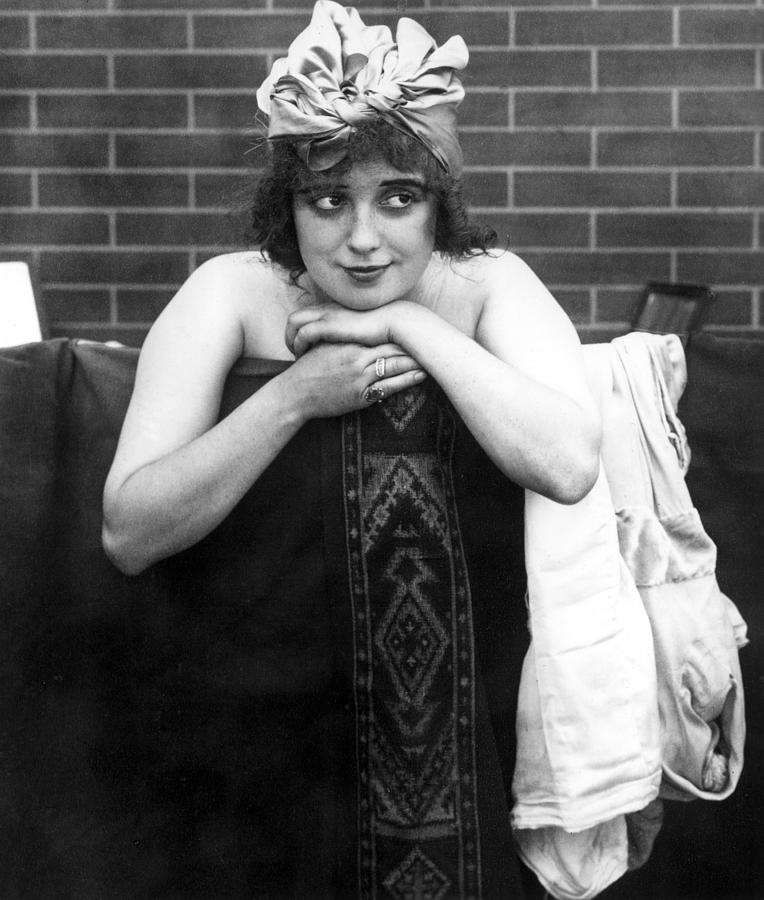 Mabel Normand, Ca. 1910s Photograph  - Mabel Normand, Ca. 1910s Fine Art Print