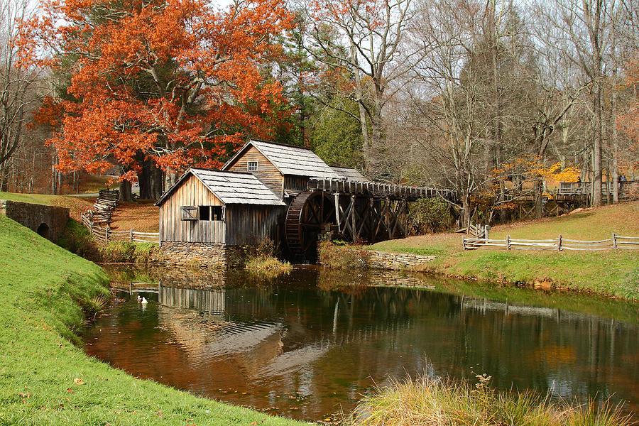 Mabry Mill Photograph