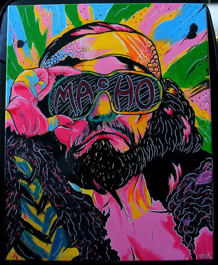 Macho Man Painting