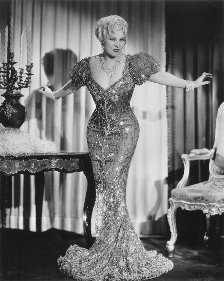 Mae West (1892-1980) Photograph  - Mae West (1892-1980) Fine Art Print