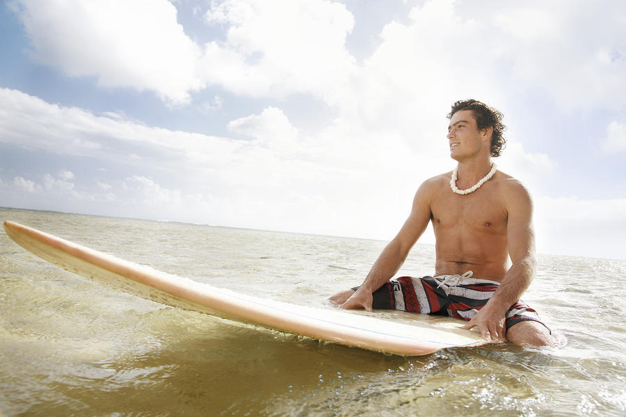 Male Surfer Photograph