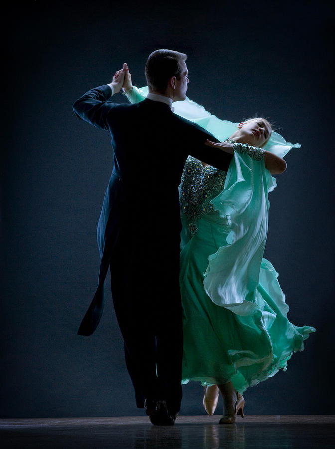 Man And Woman Dancing Photograph