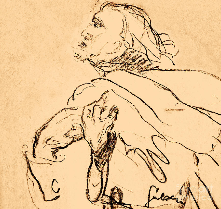 Man Portrait Drawing