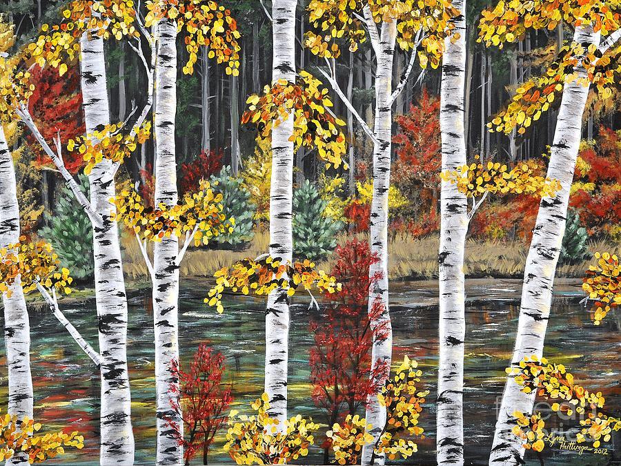 Manitoba Birch  Painting