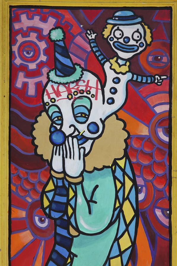 Mardi Gras Mural Art - New Orleans Louisiana Photograph  - Mardi Gras Mural Art - New Orleans Louisiana Fine Art Print