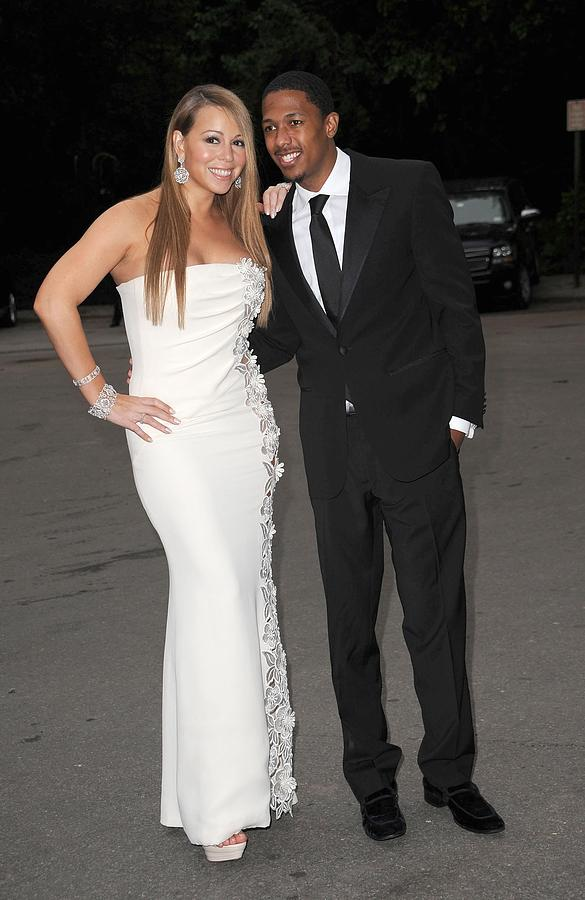 Mariah Carey Wearing A Georges Chakra Photograph  - Mariah Carey Wearing A Georges Chakra Fine Art Print