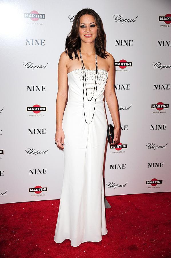 Marion Cotillard Wearing A Dior Gown Photograph