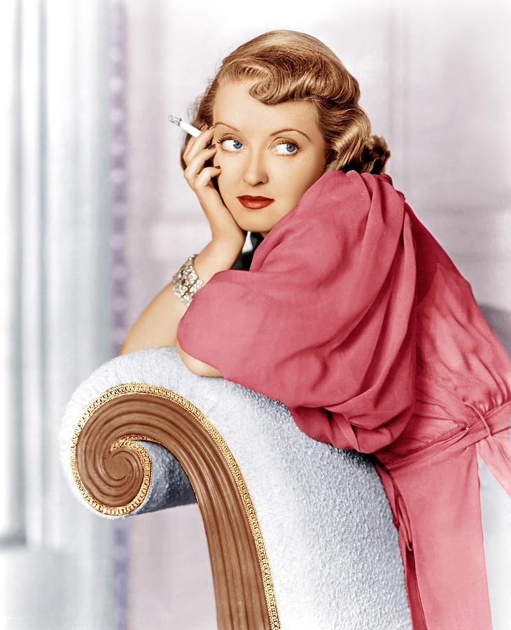 Marked Woman, Bette Davis, 1937 Photograph