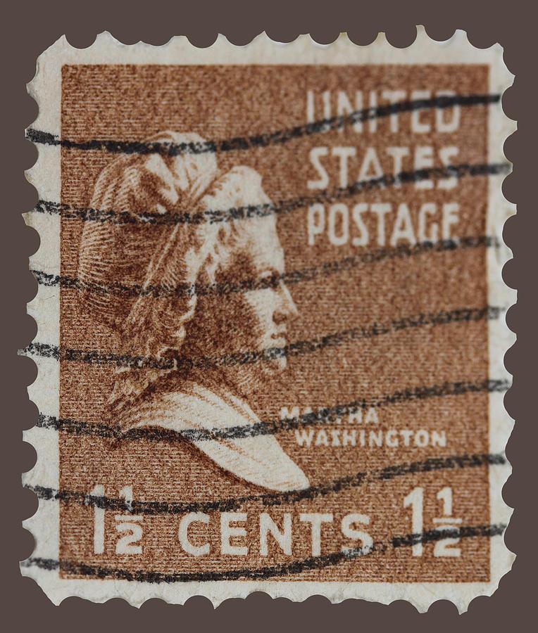 Martha Washington Postage Stamp Photograph