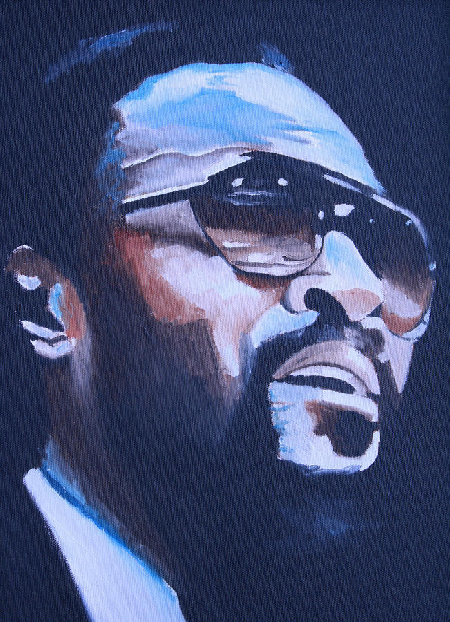Marvin Gaye. Painting