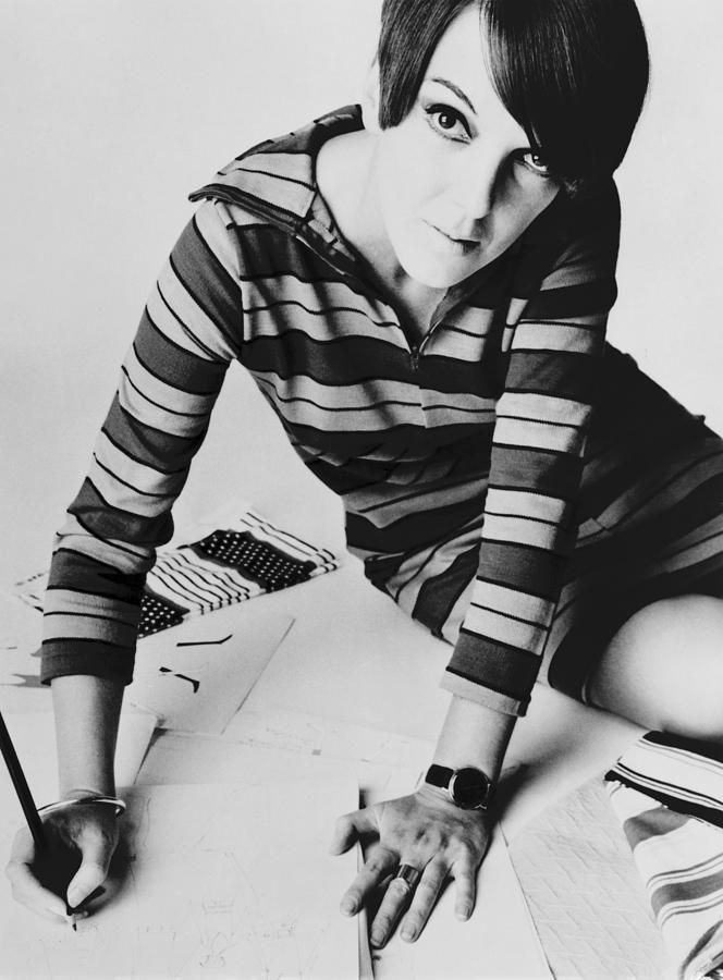 Mary Quant, British Mod Fashion Photograph  - Mary Quant, British Mod Fashion Fine Art Print