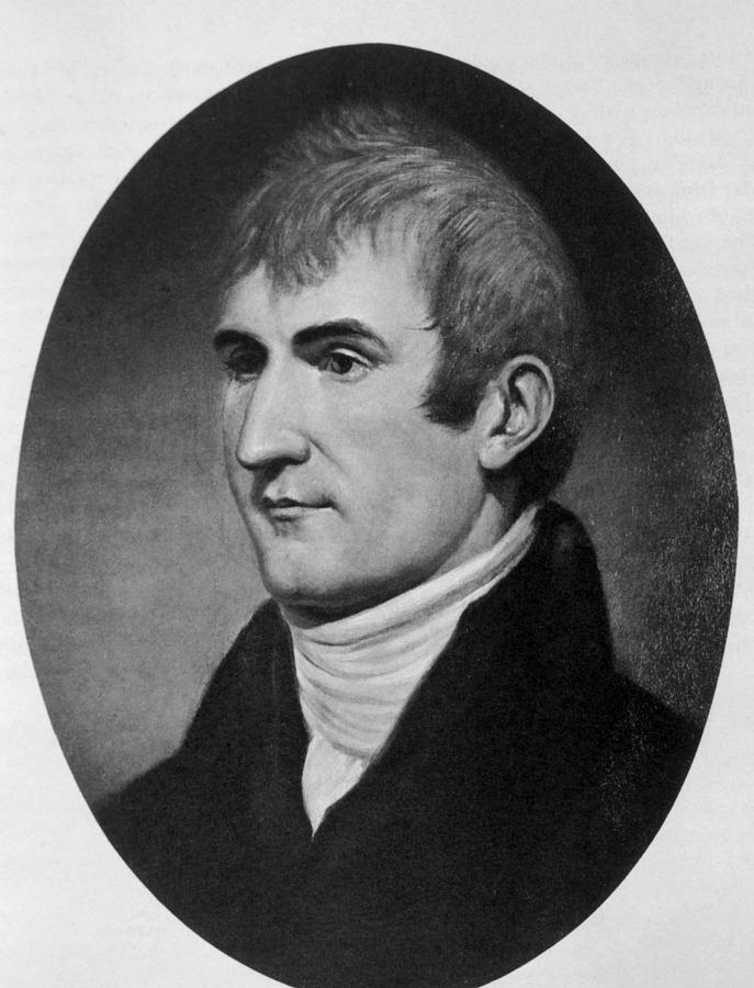 Meriwether Lewis 1774-1809, Co-leader Photograph  - Meriwether Lewis 1774-1809, Co-leader Fine Art Print