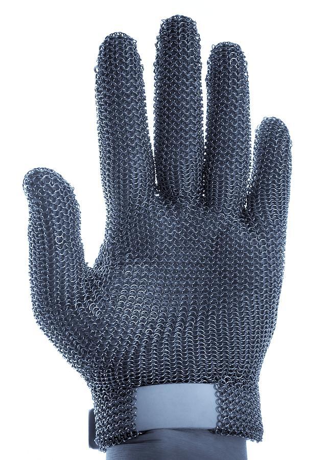 Metal Mesh Glove Photograph