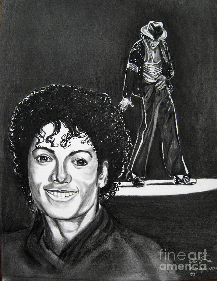 Michael Jackson II Drawing
