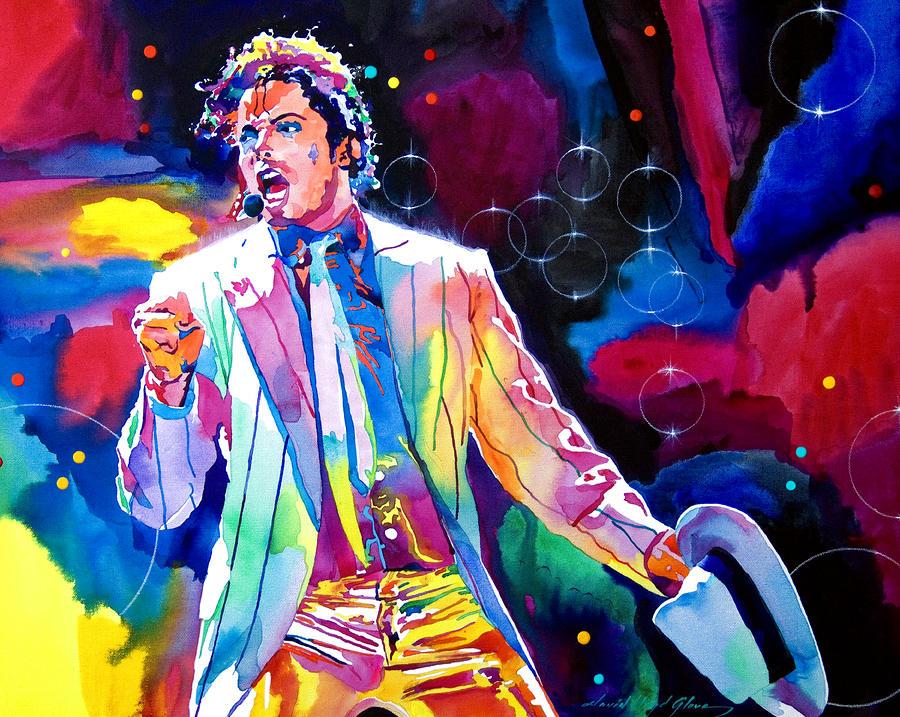 Michael Jackson Smooth Criminal Painting