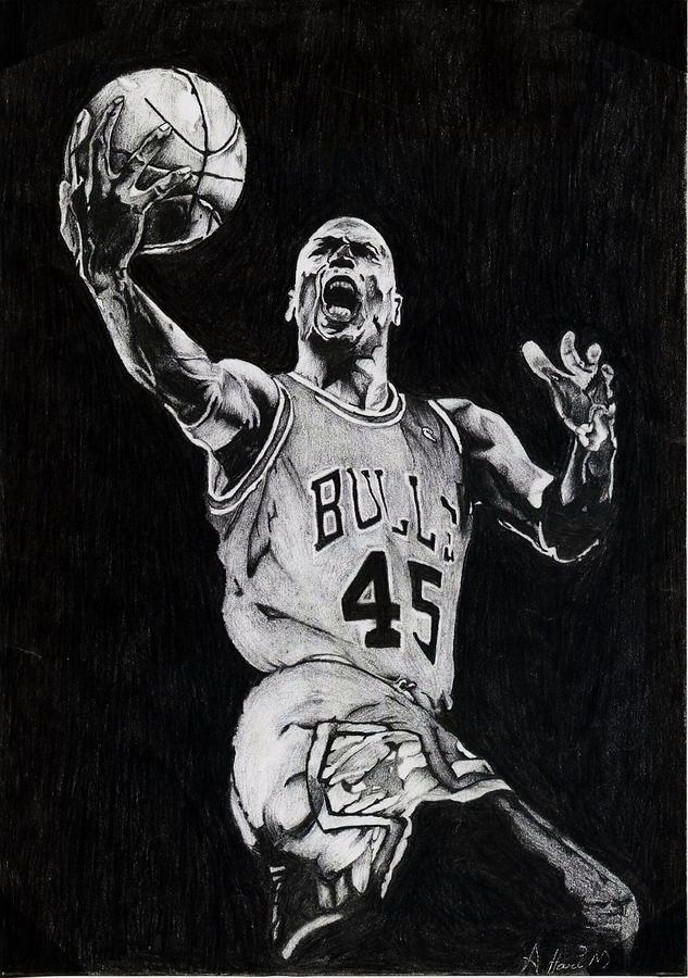 Michael Jordan Drawing