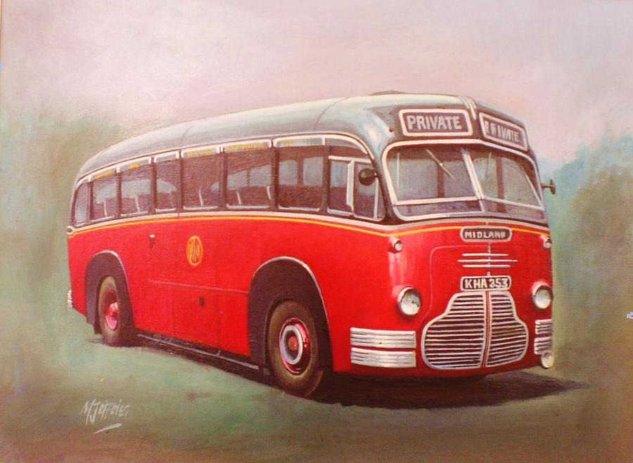 Midland Red C1 Painting