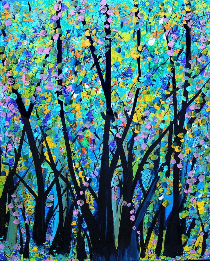 Midsummer Dream Painting  - Midsummer Dream Fine Art Print