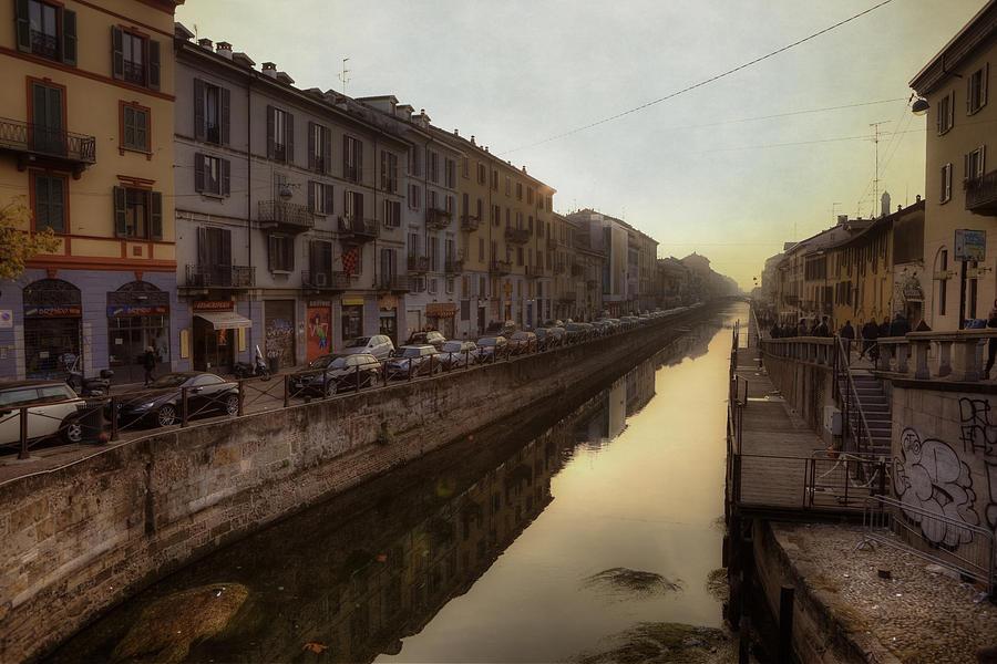 Naviglio Grande Photograph - Milan Naviglio Grande by Joana Kruse