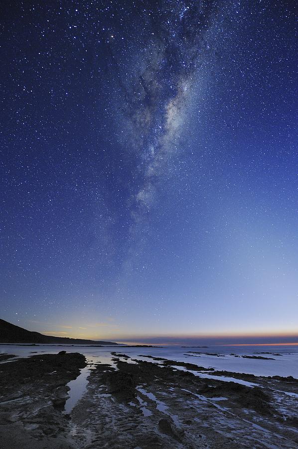 Milky Way Over Cape Otway, Australia Photograph