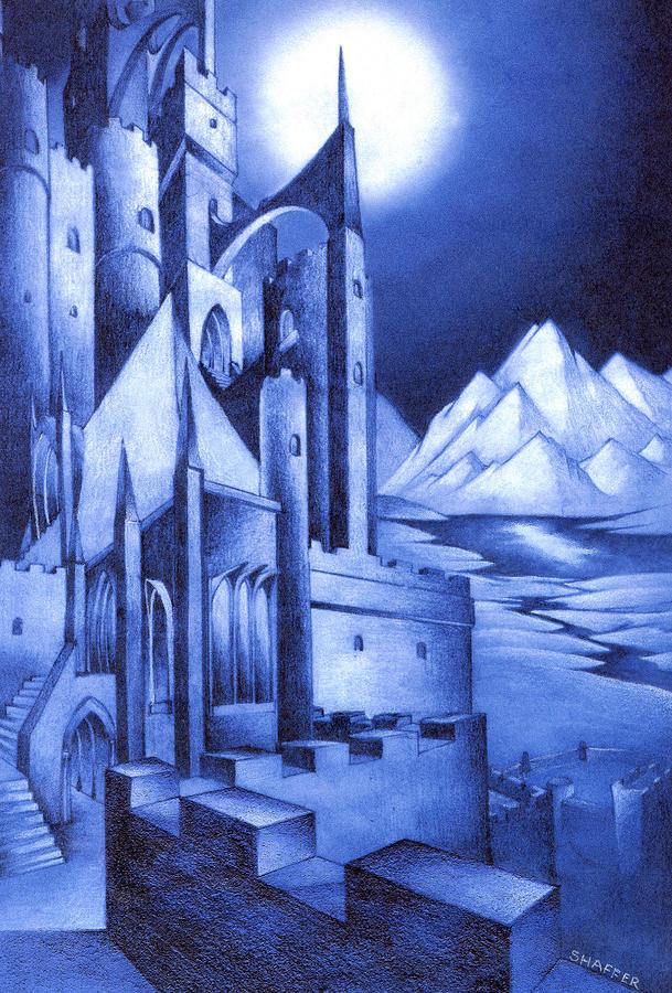 Minas Tirith Drawing