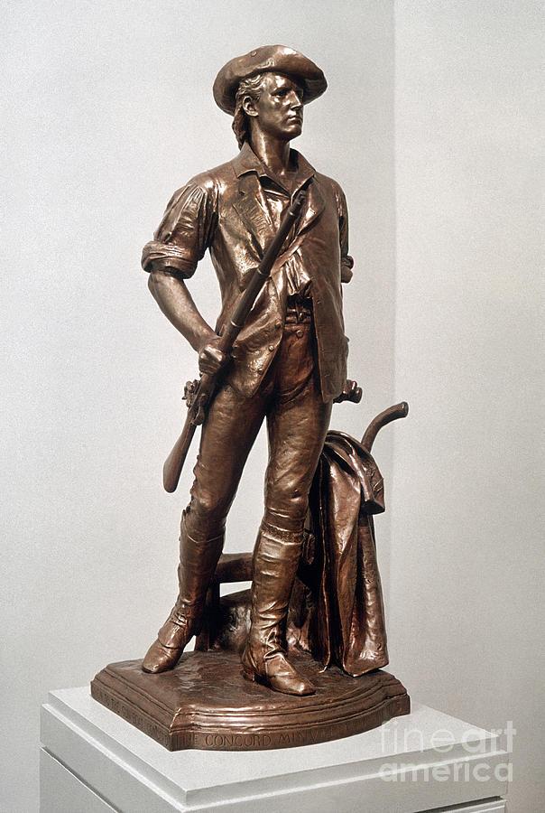 Minutemen Soldier Photograph