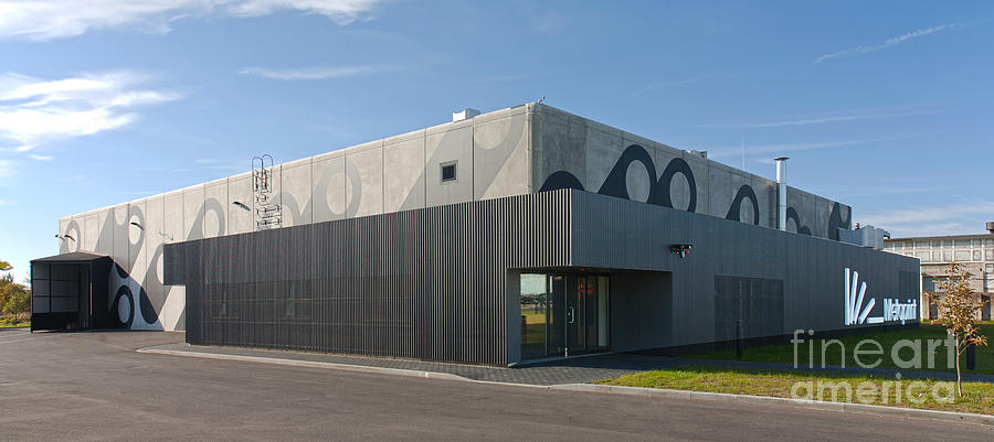 modern factory building exterior photograph by jaak nilson