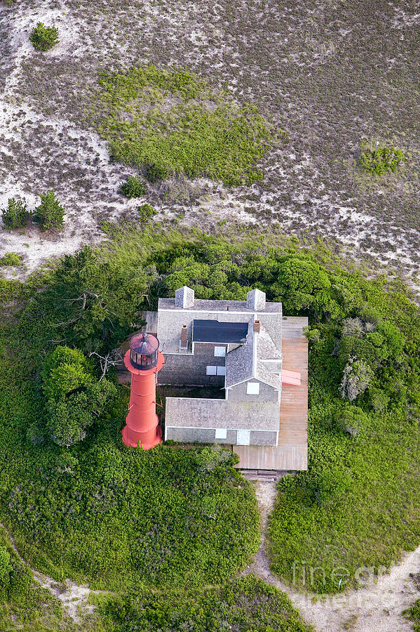 Monomoy Light At Monomoy Wildlife Refuge In Chatham On Cape Cod Photograph