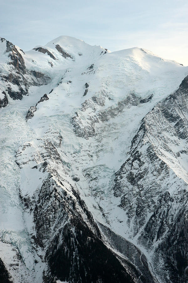 Mont Blanc Chamonix France Photograph