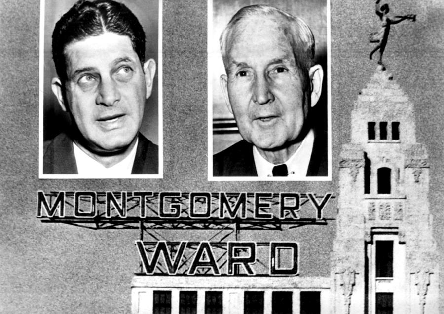 Montgomery Ward And Company, Chicago Photograph