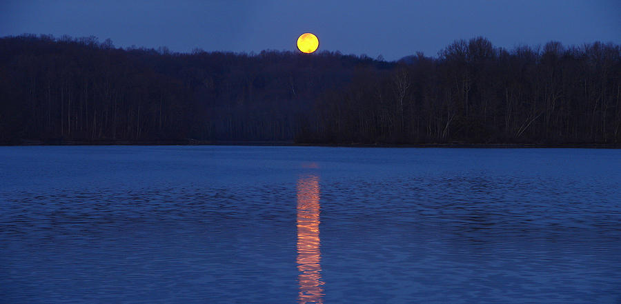 Moon River is a photograph by Brian Stevens which was uploaded on ...