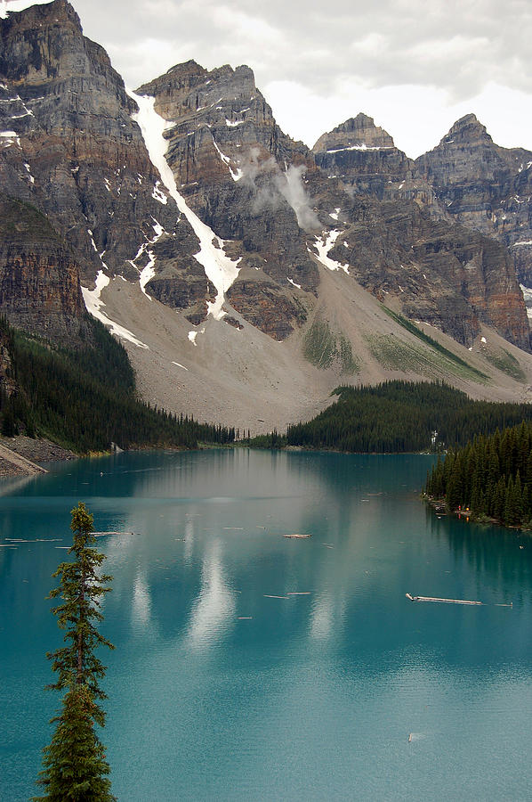 Moraine Lake - Alberta - Canada Photograph  - Moraine Lake - Alberta - Canada Fine Art Print