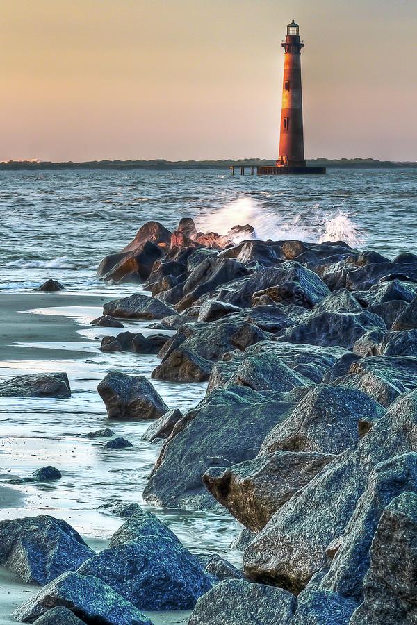 Morris Island Lighthouse Photograph