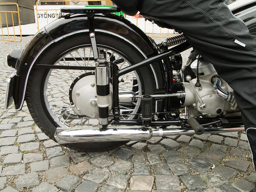 Jaguar Photograph - Motorcycle by Odon Czintos