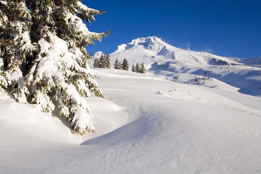 Mount Hood, Oregon, United States Of Photograph