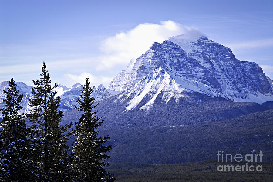 Mountain Landscape Photograph  - Mountain Landscape Fine Art Print