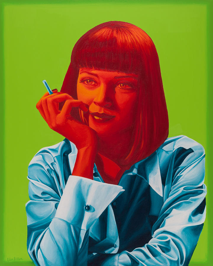 Mrs. Mia Wallace Painting  - Mrs. Mia Wallace Fine Art Print