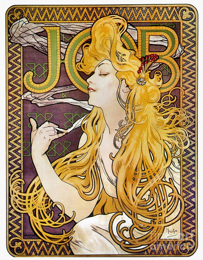 Mucha: Cigarette Papers Photograph