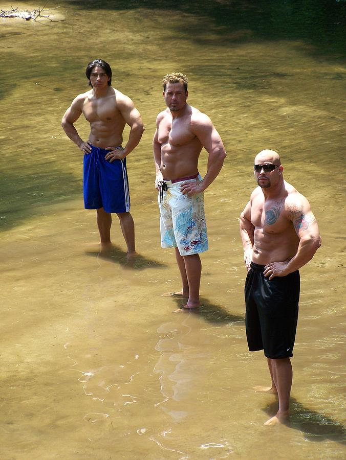 Muscle Trio Photograph