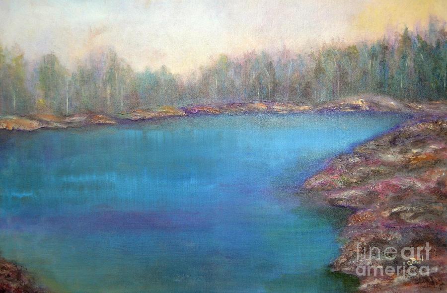 Muskoka Shore Painting