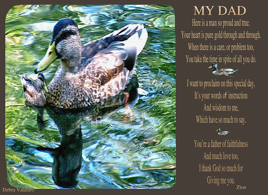 My Dad Photograph  - My Dad Fine Art Print